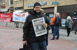 Mikael Ask säljer Proletären